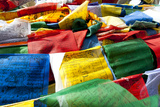 Prayer Flags  Namshangla Pass  Ladakh  India