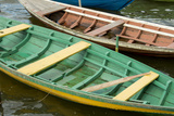 Colorful Local Wooden Fishing Boats  Alter Do Chao  Amazon  Brazil