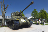 Us Sherman Tank  Airborne Museum  Sainte Mere Eglise  Normandy  France