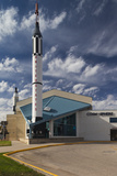 Kansas Cosmosphere and Space Center Exterior  Hutchinson  Kansas  USA