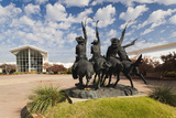 Cowboy Statue  Coming Through the Rye  Oklahoma City  Oklahoma  USA