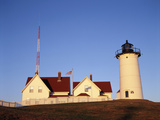 Nobska Lighthouse  Woods Hole  Cape Cod  Massachusetts  USA