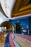 Lobby of the Burj Al Arab  in Dubai  United Arab Emirates
