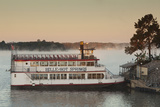 Belle of Hot Spring  Tour Boat at Dawn  Hot Springs  Arkansas  USA
