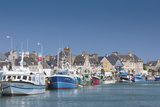 View of Town and Port  Saint Vaast La Hougue  Normandy  France