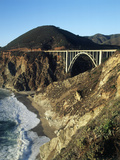 Bixby Creek Bridge  Pacific Coast California  USA