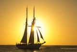 Sunset Cruise Schooner in Key West Florida  USA