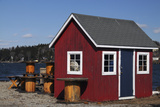 Lobster Pots  Near Cook's Lobster House  Bailey Island  Maine  USA