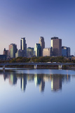Skyline from the Mississippi River  Minneapolis  Minnesota  USA