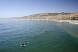 Surfing  Pismo Beach  California  USA