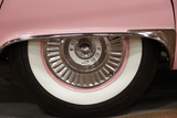 Old School White Tire on a Pink Car  Endee  New Mexico