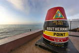 Buoy Monument  Key West Florida  USA