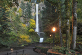 Multnomah Falls  Columbia River Gorge  Oregon  USA