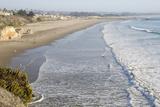 Scenic Overview of the Sandy Coastline  Pismo Beach  California  USA