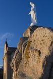 Notre Dame De La Serra Church at Dawn  Calvi  Corsica  France