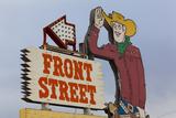 Front Street Western Town  Ogallala  Nebraska  USA