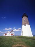 Point Judith Lighthouse  Rhode Island  USA