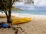 Cinnamon Bay on the Island of St John  Us Virgin Islands