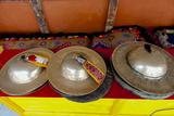 Brass Cymbals at Hemis Monastery  Ladakh  India