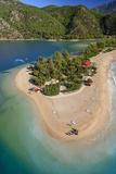 Oludeniz  Aerial  Fethiye  Turkey