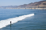 Surfing  Pismo Beach  California  USA