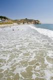 Visitors Enjoying the Ocean  Avila Beach  California  USA