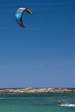 Kite Surfing  Plage De Tonnara  Bonifacio  Corsica  France