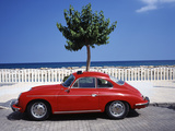 Porsche 356 on the Beach  Altea  Alicante  Costa Blanca  Spain