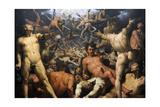 The Fall of the Titans (The Titanomachia)  1588-90 (Detail)
