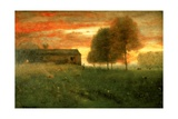 Sunset  Montclair  1892