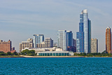 Chicago Skyline from the Water  Illinois  USA