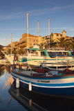 Town Marina at Sunset  Propriano  Corsica  France