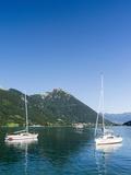Lake Achensee  Tyrol  Austria