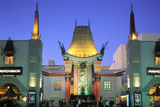 Grauman's Chinese Theatre  Los Angeles  California  USA