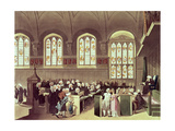 The Court of Chancery  Lincoln's Inn Fields  1808 from Ackermann's 'Microcosm of London'