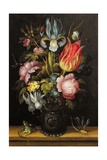Flower-Piece with a Roemer  C1615