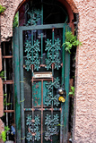 Old French Door  New Orleans  Louisiana  USA