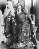 Sarah Bernhardt (1844-1923) and Marguerite Moreno (1871-1948) in 'Athalie'  a Play by Jean Racine…