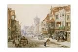 High Street  Salisbury  1870