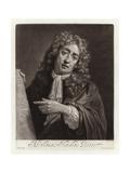 Portrait of Abraham Hondius