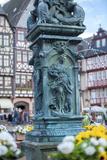 Fountain  Frankfurt  Hessen  Germany