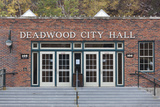 Deadwood City Hall  South Dakota  USA