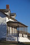 Custer House  Fort Abraham Lincoln Sp  Mandan  North Dakota  USA