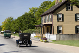 Vintage Cars in Front of Historic Home  Dearborn  Michigan  USA