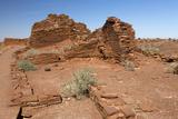Wukoki Pueblo  Wuptaki National Monument  Arizona  USA