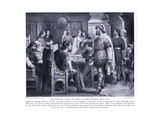 The Fateful Game of Chess at Brian Boru's Hall Ad1013  1920's