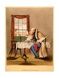 As Hot as the Deuce!  Print Made by George Hunt  1827