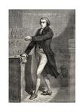 Jean-Baptiste Louvet De Couvrai  Engraved by H De La Charlerie  from 'Histoire De La Revolution…