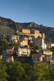 City and Citadel  Corte  Corsica  France