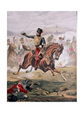 Lord Cardigan (1797-1868) Leading the Charge of the Light Brigade at the Battle of Balaklava …